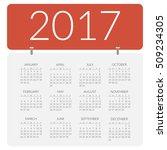 clean paper vector flat... | Shutterstock .eps vector #509234305