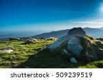mountain landscape in ranca ... | Shutterstock . vector #509239519
