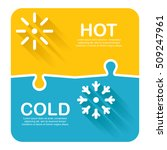 vector illustration of hot and...
