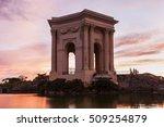 pavillon du peyrou in... | Shutterstock . vector #509254879