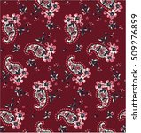 Paisley Floral Pattern