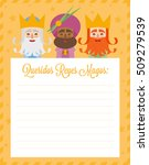 the three kings of orient.... | Shutterstock .eps vector #509279539