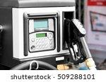 fuel pump with pistol on...   Shutterstock . vector #509288101