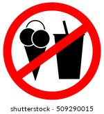 prohibition sign icon. no... | Shutterstock .eps vector #509290015