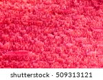 Coral Red Texture Of Untreated...