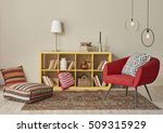 modern interior room with nice... | Shutterstock . vector #509315929