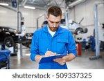 car service  repair ... | Shutterstock . vector #509337325