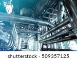 equipment  cables and piping as ... | Shutterstock . vector #509357125