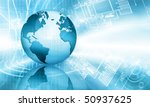 best concept of global business | Shutterstock . vector #50937625