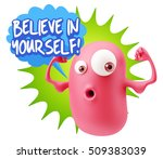 3d illustration gym fitness... | Shutterstock . vector #509383039