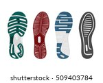 shoes sole. vector | Shutterstock .eps vector #509403784