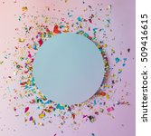 colorful celebration background ... | Shutterstock . vector #509416615