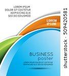 vector brochure  flyer ... | Shutterstock .eps vector #509420581