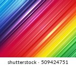 color spectrum striped... | Shutterstock . vector #509424751