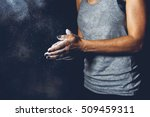 young athlete practicing... | Shutterstock . vector #509459311