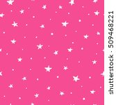 pink seamless pattern with hand ...