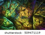 abstract fractal background | Shutterstock . vector #509471119