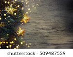 christmas decoration with... | Shutterstock . vector #509487529