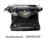 typing machine | Shutterstock . vector #50949295