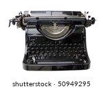 typing machine | Shutterstock . vector #50949295