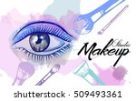 vector hand drawn illustration... | Shutterstock .eps vector #509493361