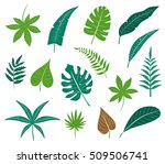 vector icon set different... | Shutterstock .eps vector #509506741
