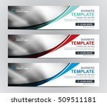 vector web banner or header... | Shutterstock .eps vector #509511181