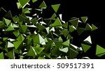 abstract polygonal background.... | Shutterstock . vector #509517391