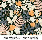 vector seamless pattern with... | Shutterstock .eps vector #509540605