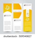 banner template. abstract... | Shutterstock .eps vector #509540827