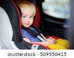 portrait of pretty toddler boy... | Shutterstock . vector #509550415