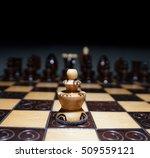 one against the world ... | Shutterstock . vector #509559121