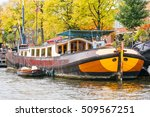 The Canals Of Amsterdam With...