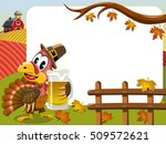 thanksgiving day horizontal... | Shutterstock .eps vector #509572621