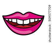 mouth cartoon icon | Shutterstock .eps vector #509577709