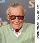 los angeles   oct 20   stan lee ... | Shutterstock . vector #509584429
