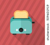 kitchenware grill toaster flat  ...   Shutterstock .eps vector #509601919