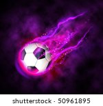 bright flamy magic symbol on... | Shutterstock . vector #50961895