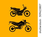 motorbikes icons | Shutterstock .eps vector #509623807