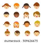 Children Face Set