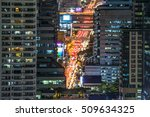 highlight shadow of traffic and ... | Shutterstock . vector #509634325