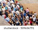 rush hour   | Shutterstock . vector #509636791
