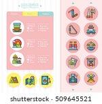 icon set adventure vector   Shutterstock .eps vector #509645521