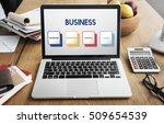 start up business strategy... | Shutterstock . vector #509654539