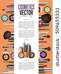 modern cosmetics product ad... | Shutterstock .eps vector #509655331