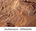 Layers Of Color Sandstone