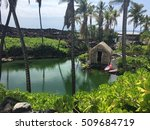 Brackish Water Pond In Hawaii