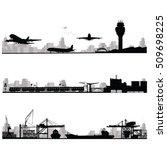 city skyline vector... | Shutterstock .eps vector #509698225