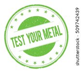 Test Your Metal Stamp Sign Tex...