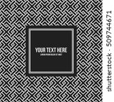 text background template with... | Shutterstock .eps vector #509744671